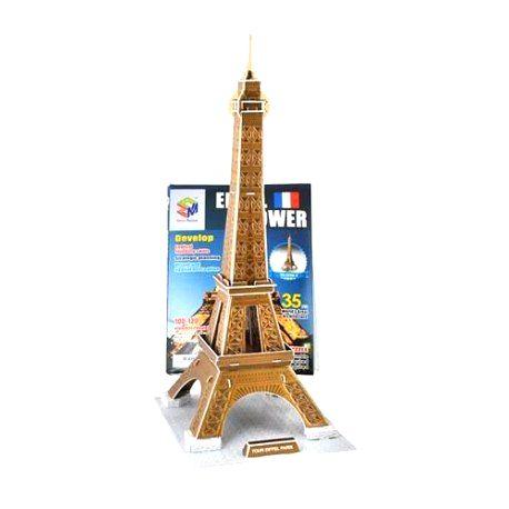 ZA1577 DR 3D puzzle - Eiffelova veža