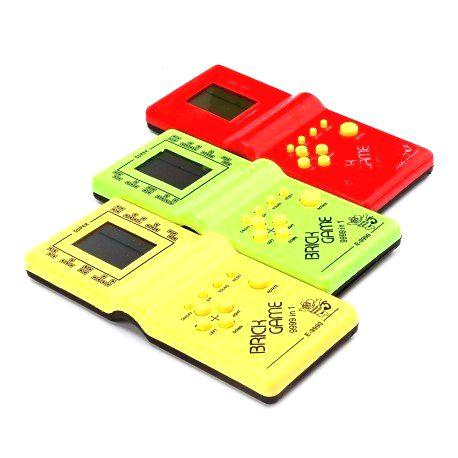 Elektronická hra Tetris Žltá