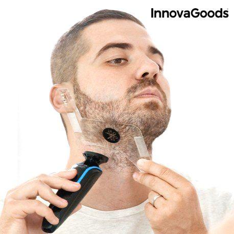 V0100984 InnovaGoods Hrebeň na fúzy - Hipster Barber InnovaGoods