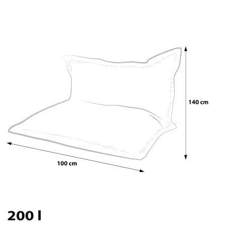 Ecopuf Sedací vankúš Ecopuf - Pillow MODERN KIDS polyester DG50/NC14