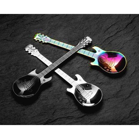 DR Gitarové čajové lyžice 3ks