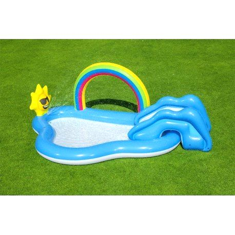 53092 BESTWAY Detský nafukovací bazén Rainbow BESTWAY