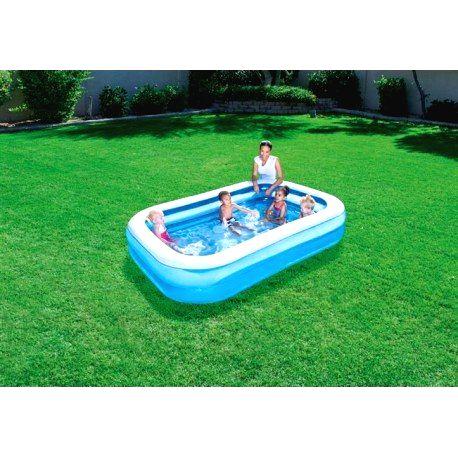 54006 Nafukovací bazén 262x175x51 cm - BESTWAY