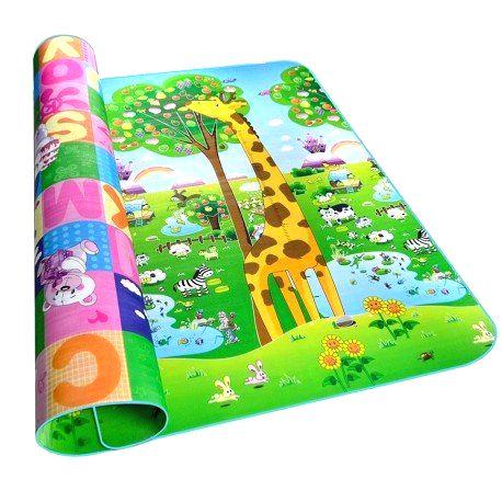 8040 Kruzzel Penová hracia podložka žirafa 200x180x0