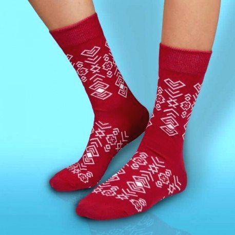 HESTY Veselé ponožky HESTY - Čičman bordový 43-46
