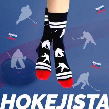 HESTY Veselé ponožky HESTY - Hokejista 43-46