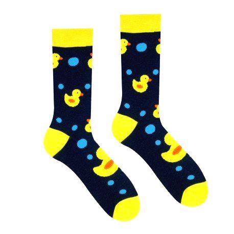 HESTY Veselé ponožky HESTY - Kačička 43-46