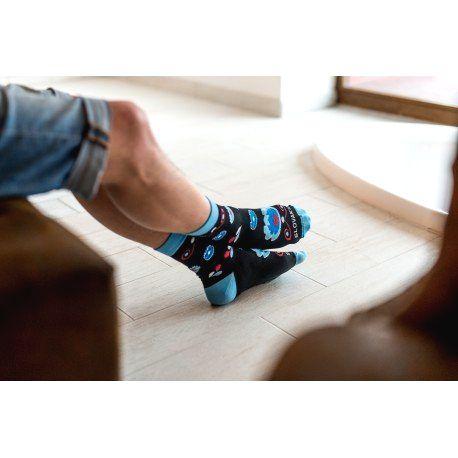HESTY Veselé ponožky HESTY - Ľudový kvet 43-46
