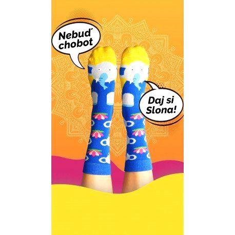 HESTY Veselé ponožky HESTY - Sloník 43-46