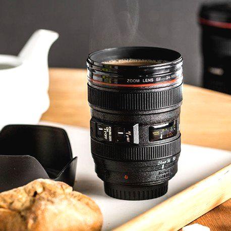 DR Hrnček objektív Lens cup light 450ml