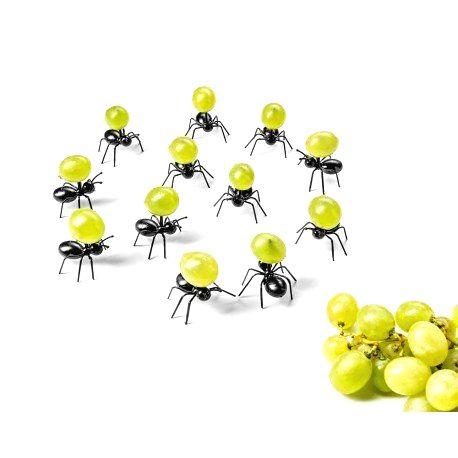 Napichovátka na jednohubky - mravce 12ks