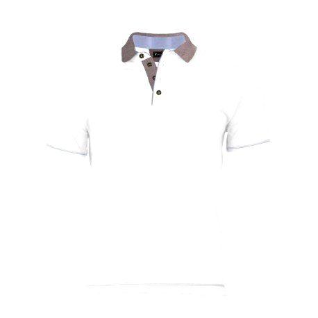 VERSABE Pánske Polo tričko biele VS-PO 1916 XXXL