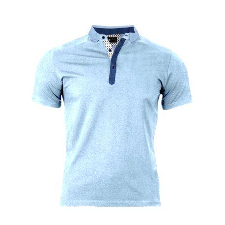 VERSABE Pánske Polo tričko bledo modré VS-PO 1914 XXXL