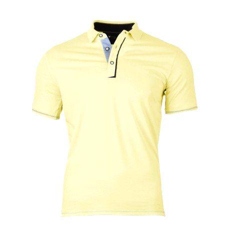 VERSABE Pánske Polo tričko žlté VS-PO 1902 XXXL