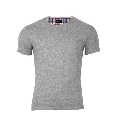 VERSABE Pánske tričko VS-PT1901 sivé XXXL