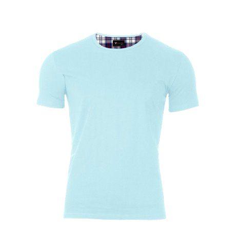 VERSABE Pánske tričko VS-PT1905 bledo modré XXXL