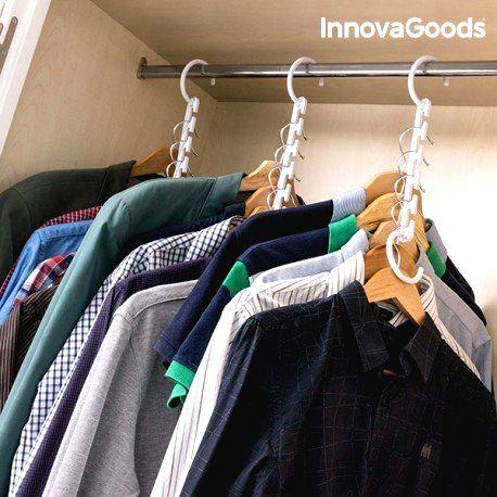 V0100758 InnovaGoods Vešiak na ramienka na 40 odevov InnovaGoods