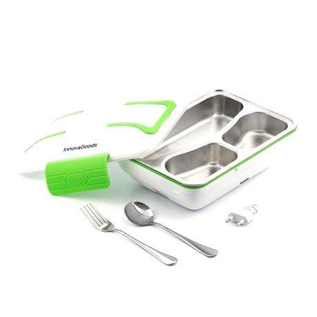 V0103065 InnovaGoods Elektrický obedár PRO 50W InnovaGoods - Bielo zelená