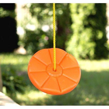 7509 DR Detská okrúhla hojdačka s lanom 28 cm