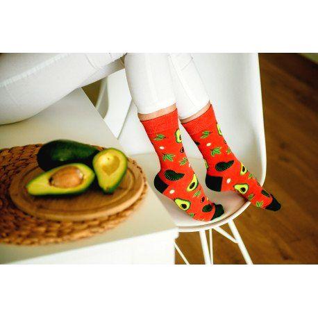 HESTY Veselé ponožky HESTY - Avokádo 43-46