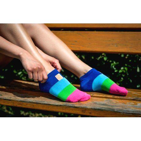 HESTY Veselé ponožky HESTY - Nanučik členkové 43-46