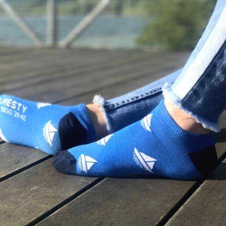HESTY Veselé ponožky HESTY - Pravý kapitán členkové 43-46